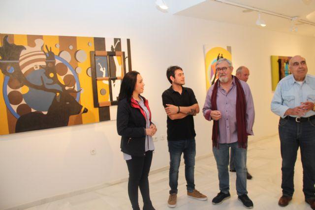 El artista lumbrerense Salva Piñero expone su obra 'Tras una vida, otra vida' en el Centro Cultural Casa de los Duendes - 1, Foto 1