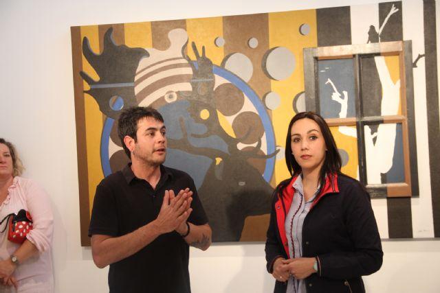 El artista lumbrerense Salva Piñero expone su obra 'Tras una vida, otra vida' en el Centro Cultural Casa de los Duendes - 2, Foto 2