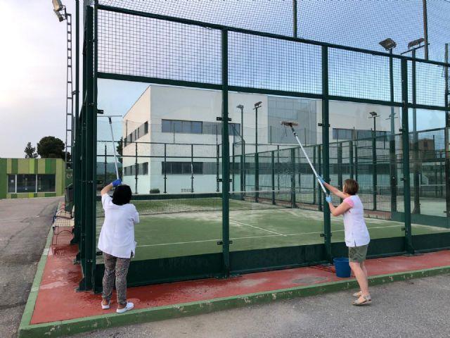 Puerto Lumbreras prepara sus instalaciones deportivas para la entrada de la fase 1 - 1, Foto 1