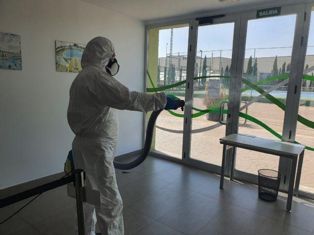 Puerto Lumbreras prepara sus instalaciones deportivas para la entrada de la fase 1 - 3, Foto 3