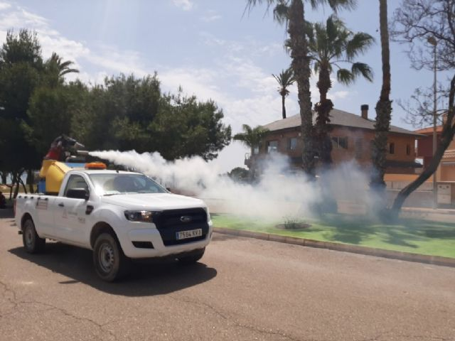 El ayuntamiento incrementa el control sobre los mosquitos para frenar su proliferación, Foto 1