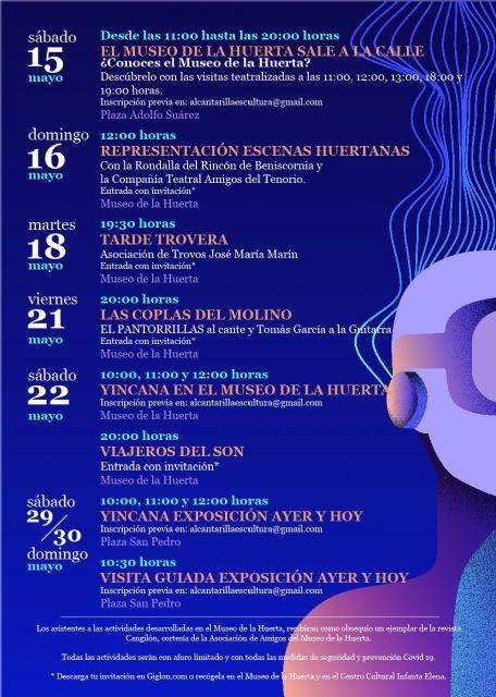 Visitas teatralizadas, música y yincanas componen la programación de Alcantarilla por el Día de los Museos - 1, Foto 1