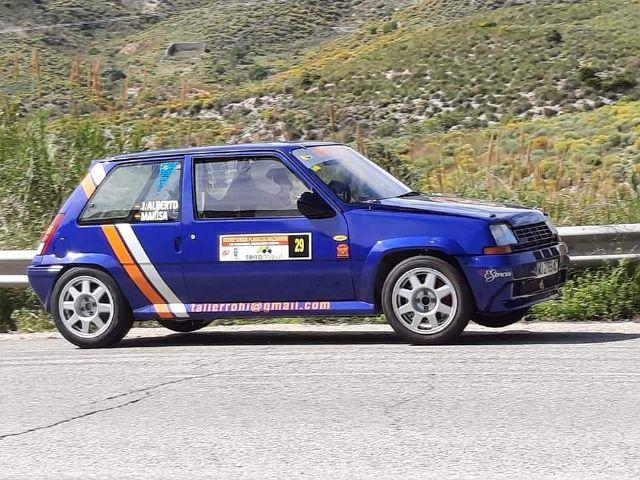 Suerte dispar para los pilotos del Automóvil Club Totana en la Subida a las Playas de Mazarrón