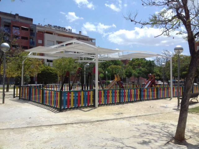Cuatro zonas de juegos infantiles de El Ranero, el Infante y Santiago y Zaraíche ya disponen de pérgolas de sombraje - 4, Foto 4