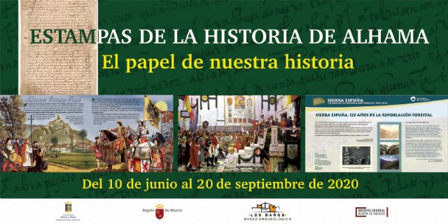 El museo Los Baños celebra su reapertura con la exposición ´Estampas de la historia de Alhama´ - 1, Foto 1