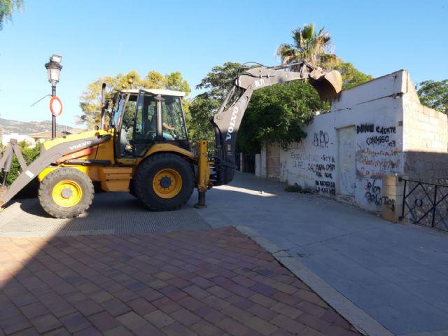 El Ayuntamiento de Lorca lleva a cabo la necesaria demolición de dos viviendas para la correspondiente ejecución del tramo 3 de la ronda central - 1, Foto 1