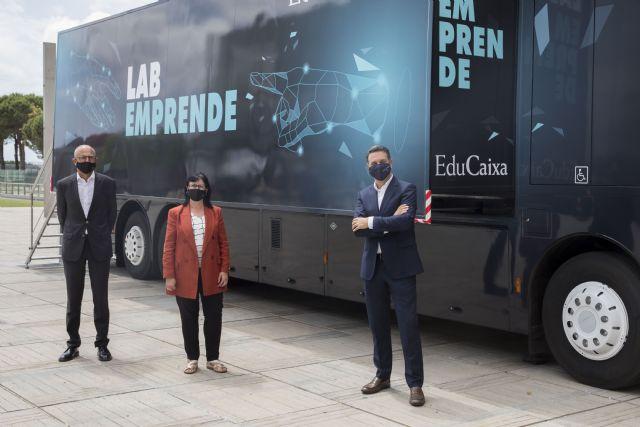 El LabEmprende de la Fundación la Caixa estrena su recorrido en la Región de Murcia - 1, Foto 1