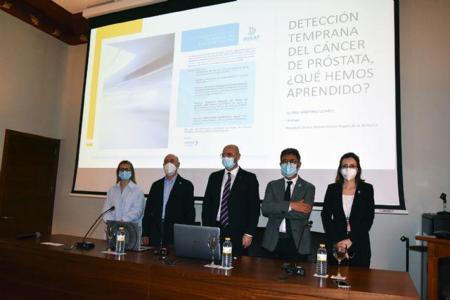 El cáncer de próstata afecta cada año a más de 800 hombres en la Región de Murcia siendo el más frecuente en varones - 1, Foto 1