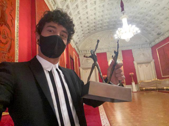 Jesús Carmona se corona como mejor bailarín del planeta al recibir el 'Óscar de la Danza' en el Teatro Bolshói de Moscú - 1, Foto 1