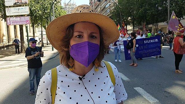 Podemos se moviliza junto al Plan de Choque y las Marchas de la Dignidad en el día de la Región de Murcia - 1, Foto 1