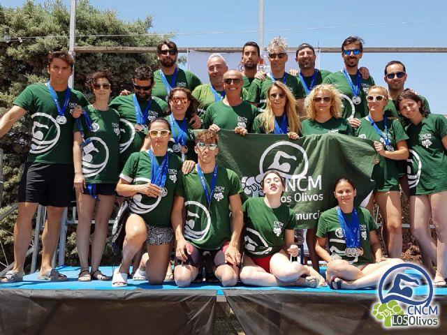 El Club Natación Ciudad de Murcia Los Olivos se clasifica en 7ª posición en el Campeonato de España de Natación Open Máster Reus 2018 - 2, Foto 2