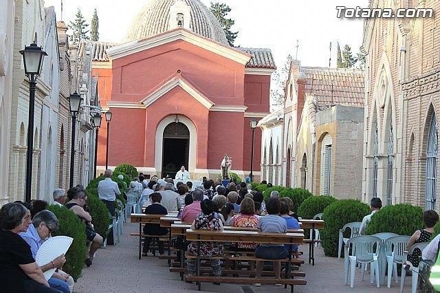 La tradicional misa en honor a la Patrona del Cementerio Municipal Nuestra Señora del Carmen se celebrará el lunes 16 de julio, Foto 1