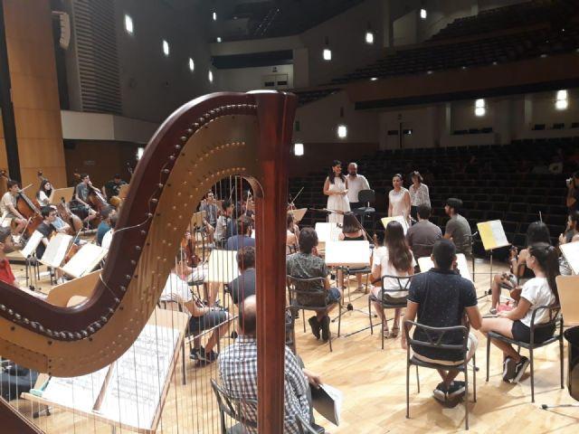 La Orquesta de Jóvenes de la Región de Murcia celebra su encuentro de verano y actúa en Murcia y Torrevieja - 1, Foto 1