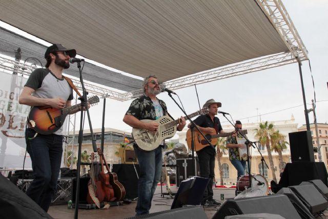 El Cartagena Folk se consolida como una cita anual entre los aficionados regionales de la música de fusión - 1, Foto 1