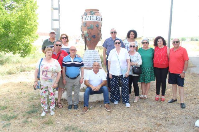 Una expedición de asturianos de Avilés visita la pedanía lorquina del mismo nombre - 1, Foto 1