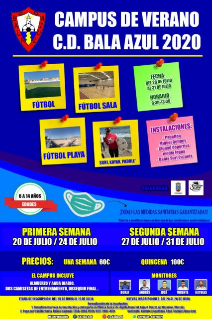 El C.D. Bala Azul organiza un campus de verano con todas las medidas de seguridad garantizadas - 1, Foto 1
