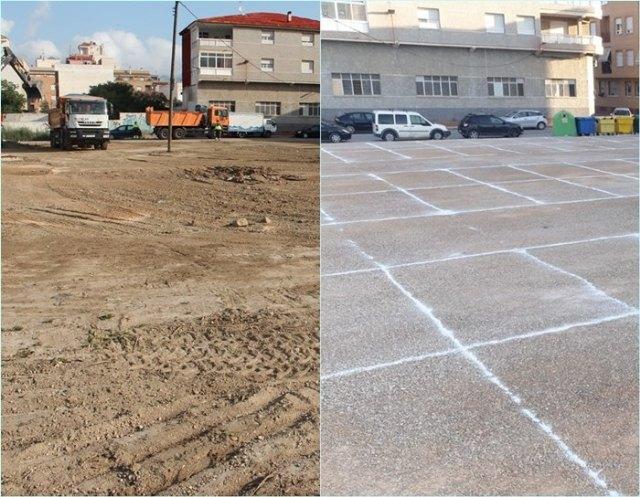 El Ayuntamiento de Beniel habilita más de 90 plazas de aparcamiento en la Urbanización Sur - 1, Foto 1