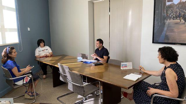 El Ayuntamiento de Puerto Lumbreras explica las medidas adoptadas ante el inicio del nuevo curso escolar a las AMPAs del municipio - 4, Foto 4