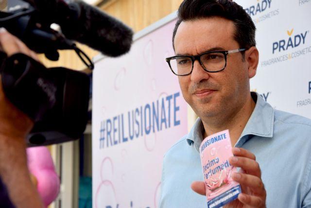 Loterías Perolo lanza el primer décimo de lotería perfumado - 1, Foto 1