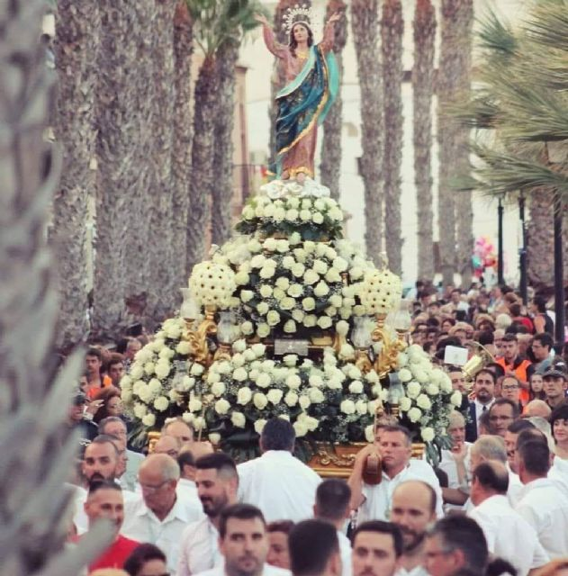 Los Alcázares no celebrará este verano sus fiestas en honor a Nuestra Señora de la Asunción por la COVID-19 - 1, Foto 1