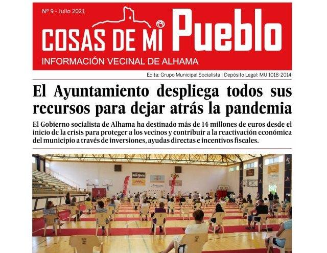 Alhama, modelo de gestión durante la pandemia, en el nuevo número de 'Cosas de mi pueblo', Foto 1