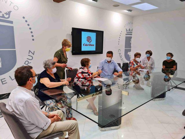 El Ayuntamiento de Caravaca colabora con los programas de atención social de Caritas con una ayuda directa de 21.000 euros - 1, Foto 1