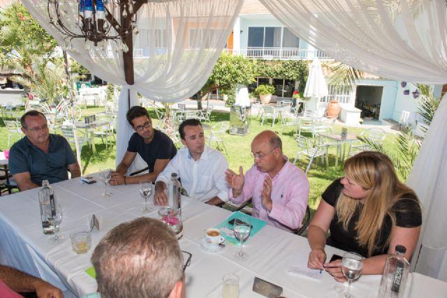 La comunidad ofrecerá créditos para avalar las nuevas inversiones que realicen los empresarios mazarroneros - 1, Foto 1