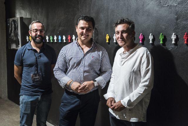 Nicolás de Maya inaugura el nuevo espacio artístico del auditorio de San Javier con una muestra del  proceso creativo del cartel de la 47 edición del Festival de Teatro, Música y Danza - 1, Foto 1