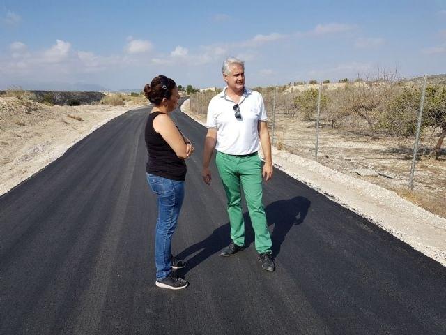 Agricultura destina más de 700.000 euros para mejorar ocho caminos rurales en la Región - 1, Foto 1