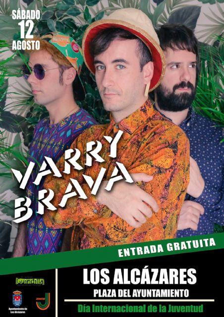Los Alcázares celebrarán el Día Internacional de la Juventud con un concierto gratuito de Varry Brava - 2, Foto 2