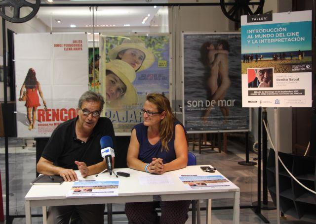 Benito Rabal impartirá el taller Introducción al mundo del cine y la interpretación - 1, Foto 1
