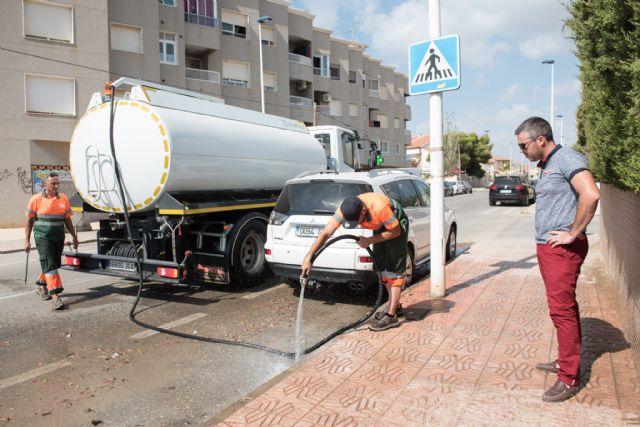 Limpieza de imbornales y canalizaciones para prevenir inundaciones., Foto 1