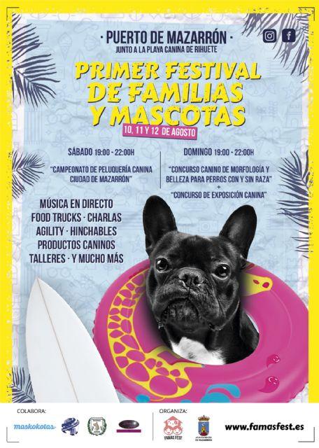 Llega a Puerto de Mazarrón el primer gran festival de familias con mascotas, Foto 1