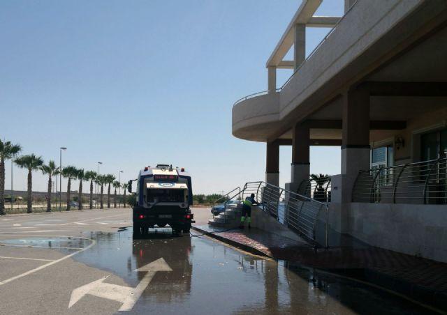 Cs exige explicaciones al Gobierno local sobre el uso irregular del servicio de limpieza viaria en un recinto privado - 3, Foto 3
