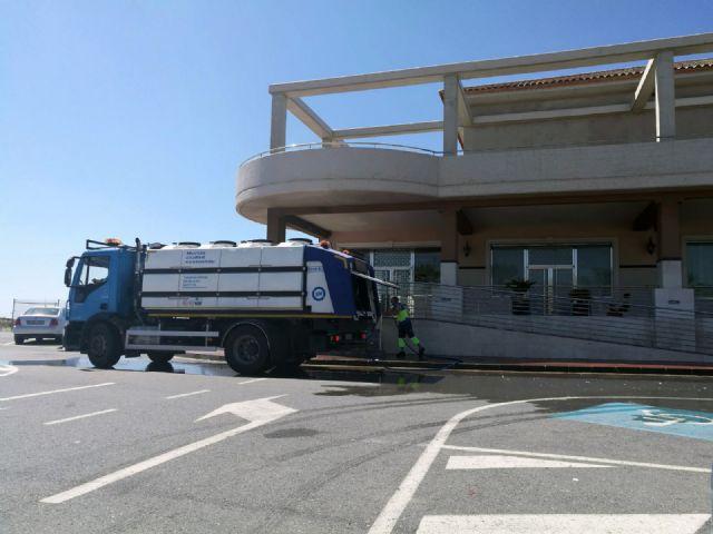 Cs exige explicaciones al Gobierno local sobre el uso irregular del servicio de limpieza viaria en un recinto privado - 4, Foto 4