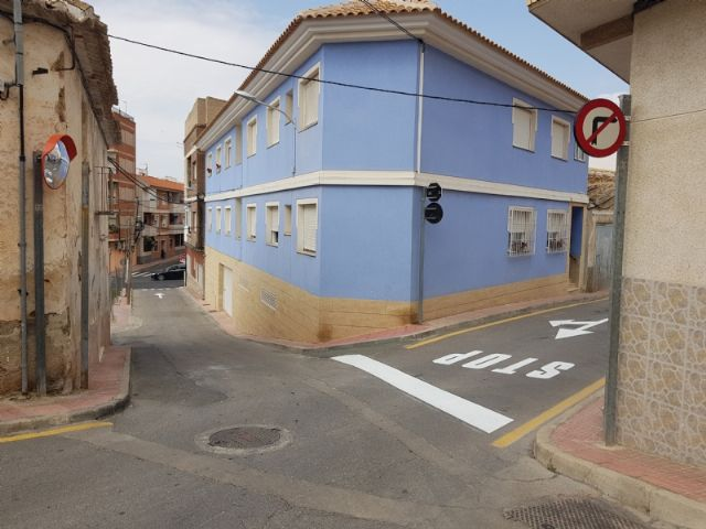 Cambio de sentido de circulación de la calle San Antonio, Foto 1
