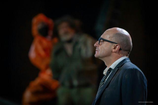 El veterano actor Pedro Casablanc protagoniza Filoctetes la última tragedia de Sófocles , una obra antibelicista y con altas dosis de intriga - 1, Foto 1
