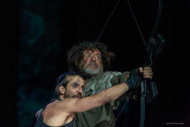 El veterano actor Pedro Casablanc protagoniza Filoctetes la última tragedia de Sófocles , una obra antibelicista y con altas dosis de intriga - 2, Foto 2