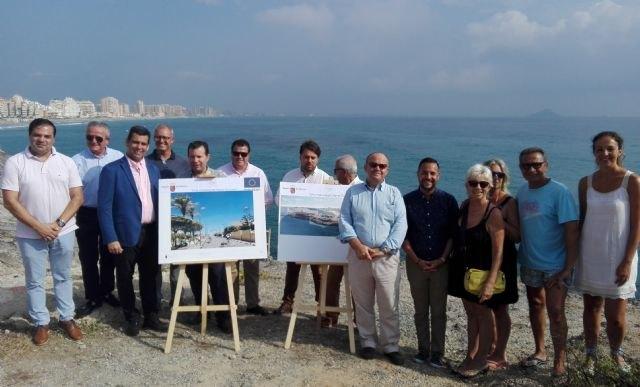 La futura plaza orientada al mar de La Manga creará un itinerario peatonal continuo y accesible para mejorar la conexión con el litoral, Foto 2