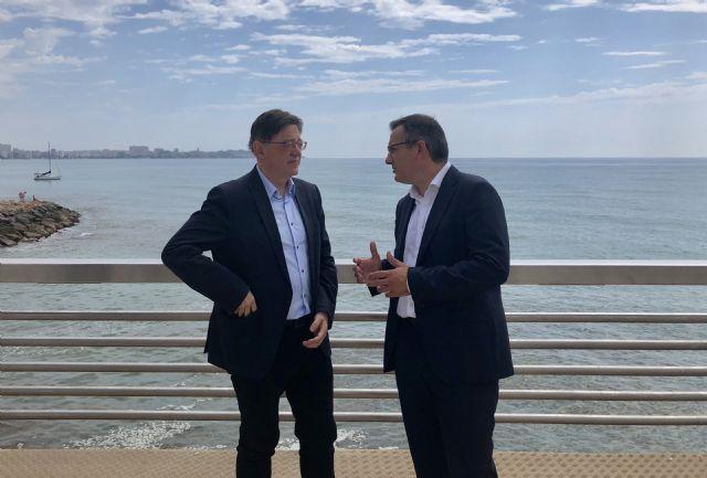 Diego Conesa y Ximo Puig se reúnen para sobre sanidad, educación, agua, infraestructuras y financiación autonómica, Foto 4