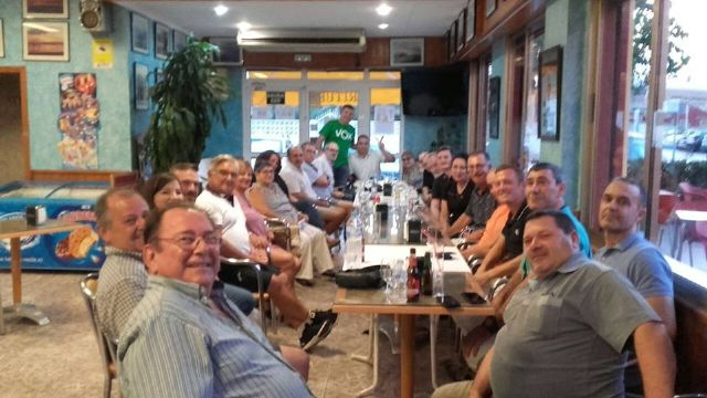 Encuentro de VOX con afiliados y simpatizantes en el Puerto de Mazarrón, Foto 2