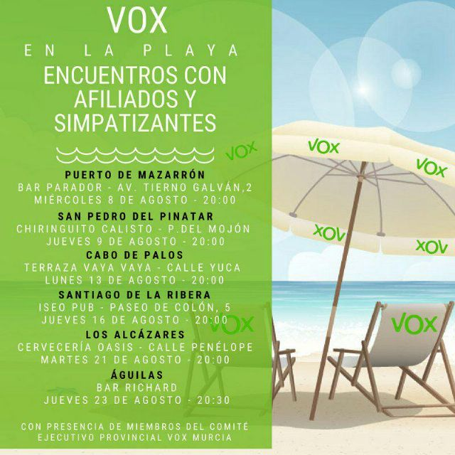 Encuentro de VOX con afiliados y simpatizantes en el Puerto de Mazarrón, Foto 3