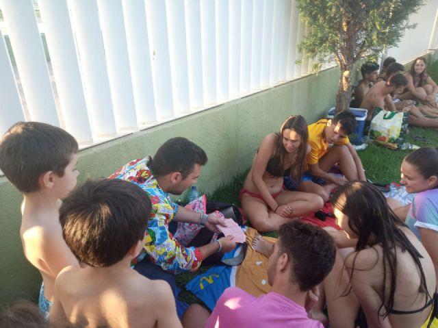 Las piscinas municipales de Puerto Lumbreras  acogen a más de 7500 personas durante el mes de julio - 1, Foto 1