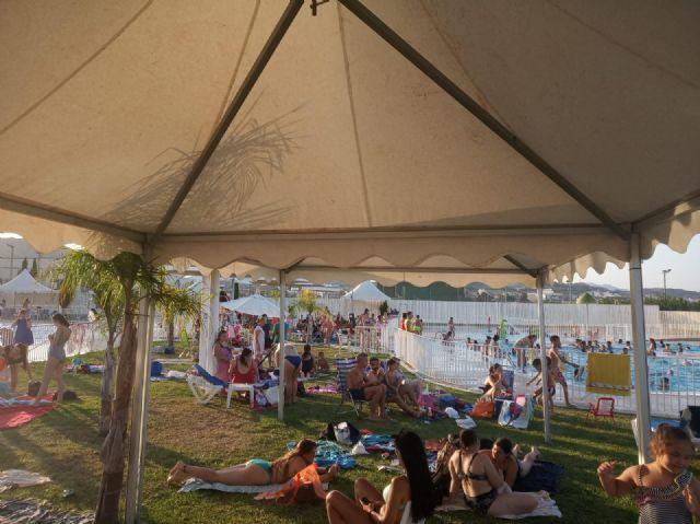Las piscinas municipales de Puerto Lumbreras  acogen a más de 7500 personas durante el mes de julio - 3, Foto 3