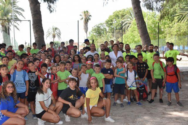 Más de 250 alumnos participan en las escuelas de verano de baloncesto y tenis en Archena - 1, Foto 1