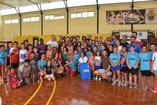 Más de 250 alumnos participan en las escuelas de verano de baloncesto y tenis en Archena - 2, Foto 2