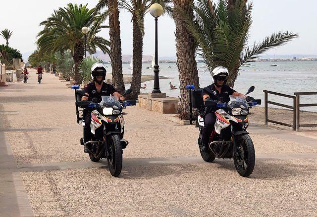 La Policía Local intensifica la vigilancia en las playas con patrullas motorizadas - 1, Foto 1