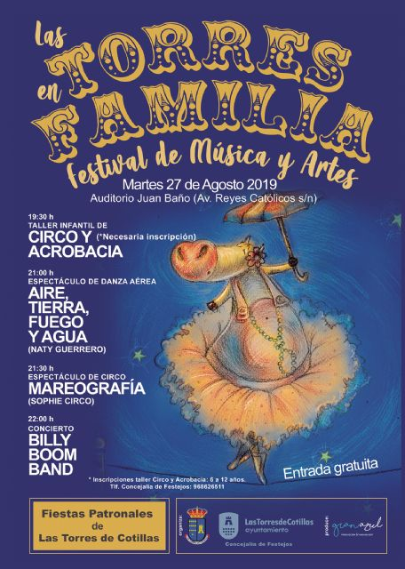 Las fiestas torreñas programan un festival gratuito de música y artes para toda la familia - 1, Foto 1