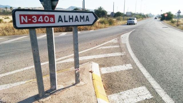 Se licita el contrato de rehabilitación en varios tramos del firme de la N-340 en el término municipal de Totana por más de 34.000 euros - 1, Foto 1