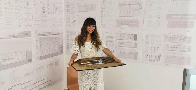 Una alumna de Arquitectura proyecta en el Puerto de la Cadena un centro de enfermedades neuromusculares - 1, Foto 1